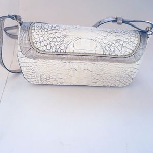 Brahmin Alligator Cross Bag